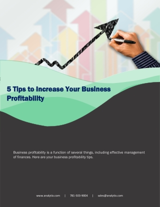 5 Tips to Increase Your Business Profitability