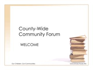 County-Wide Community Forum