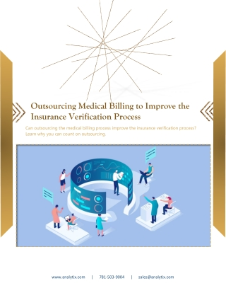 Outsourcing Medical Billing to Improve the Insurance Verification Process