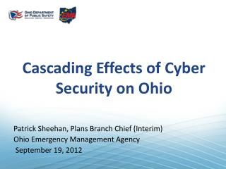 Cascading Effects of Cyber Security on Ohio