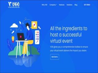 Online event organizer