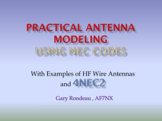 SIMPLE  WIRE HF ANTENNA