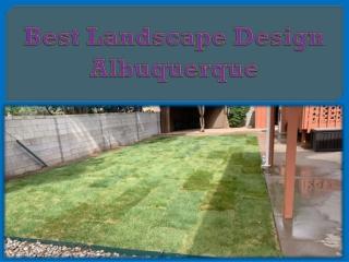 Best Landscape Design Albuquerque