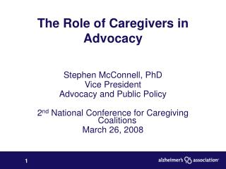 The Role of Caregivers in Advocacy