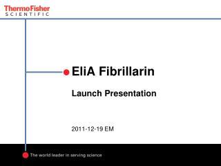 EliA Fibrillarin