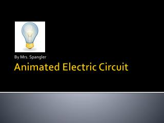 Animated Electric Circuit