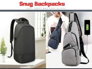 Anti Theft Backpack Australia