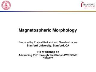 Magnetospheric Morphology