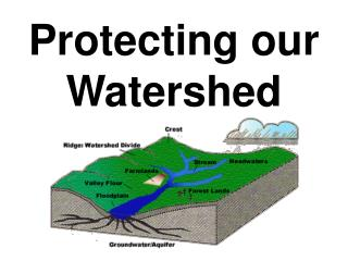 Protecting our Watershed