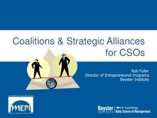 Coalitions  Strategic Alliances for CSOs