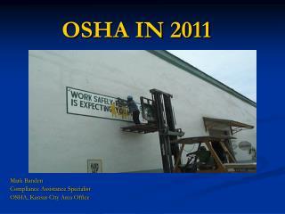 OSHA IN 2011