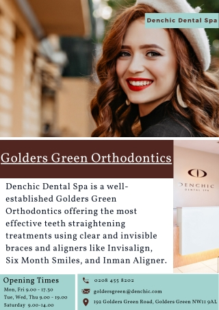 Golders Green Orthodontics