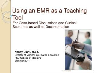 Using an EMR as a Teaching Tool