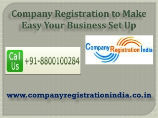 Company Registration to Make Easy Your Business Set Up