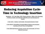 Reducing Acquisition Cycle-Time in Technology Insertion