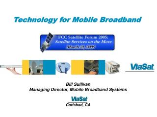 Technology for Mobile Broadband