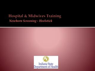 Hospital & Midwives Training