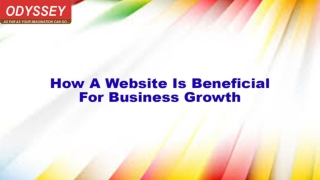 How A Website Is Beneficial For Business Growth | Web Designing Company Delhi