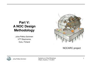 Part V: A NOC Design Methodology