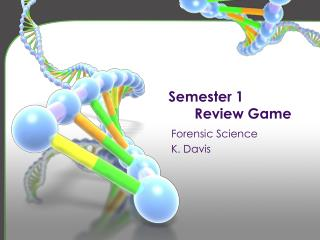 Semester 1  Review Game