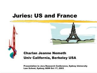 Juries: US and France