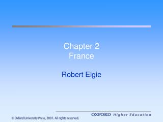 Chapter 2 France