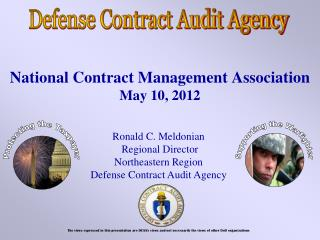 National Contract Management Association May 10, 2012