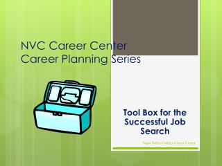 NVC Career Center Career Planning Series