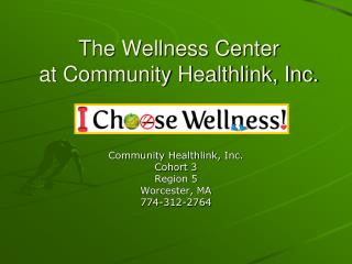 The Wellness Center  at Community Healthlink, Inc.