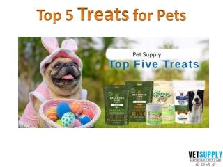 Top 5 Treats for Pets   Training Treats   Dental Treats   VetSupply