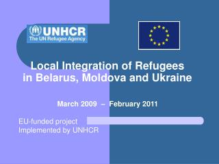 Local Integration of Refugees  in Belarus, Moldova and Ukraine