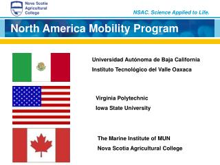 North America Mobility Program