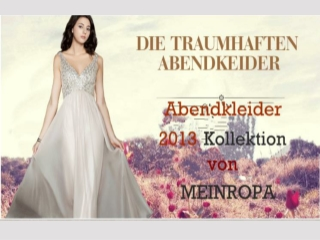 MEINROPA Evening dresses 2013 Collection
