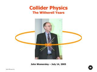 Collider Physics The Witherell Years