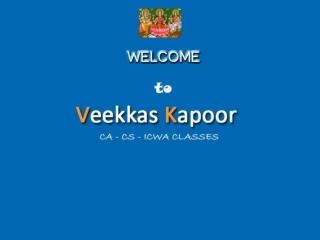 Veekkas Kapoor Classes