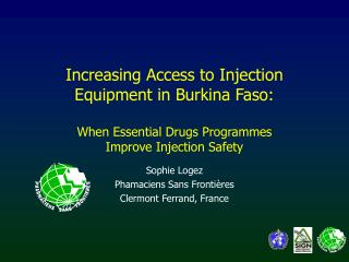 Increasing Access to Injection Equipment in Burkina Faso: