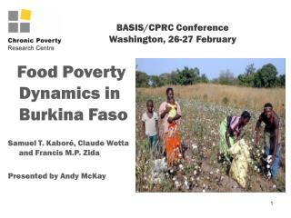 BASIS/CPRC Conference Washington, 26-27 February
