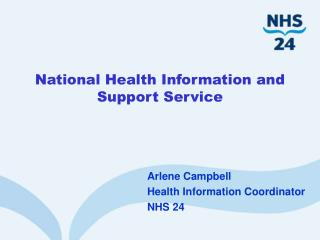 National Health Information and Support Service