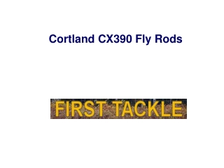 Cortland CX390 Fly Rods