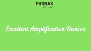 Excellent Amplification Devices