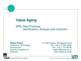 Value Aging