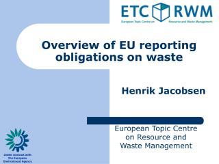 Overview of EU reporting obligations on waste