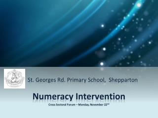 St. Georges Rd. Primary School,  Shepparton