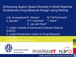 Enhancing Search Space Diversity in Multi-Objective Evolutionary Drug Molecule Design using Niching