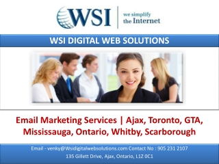 Email Marketing Services | Ajax, Toronto, GTA, Mississauga,