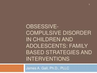 Obsessive-Compulsive Disorder in Children and Adolescents: Family Based Strategies and Interventions