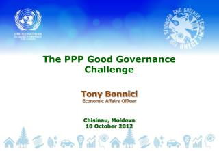The PPP Good Governance  Challenge