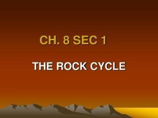CH. 8 SEC 1