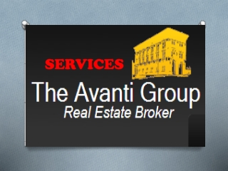 The Avanti Group - Services