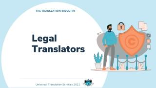 Legal Translators